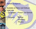 option subjects