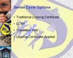 senior cycle options