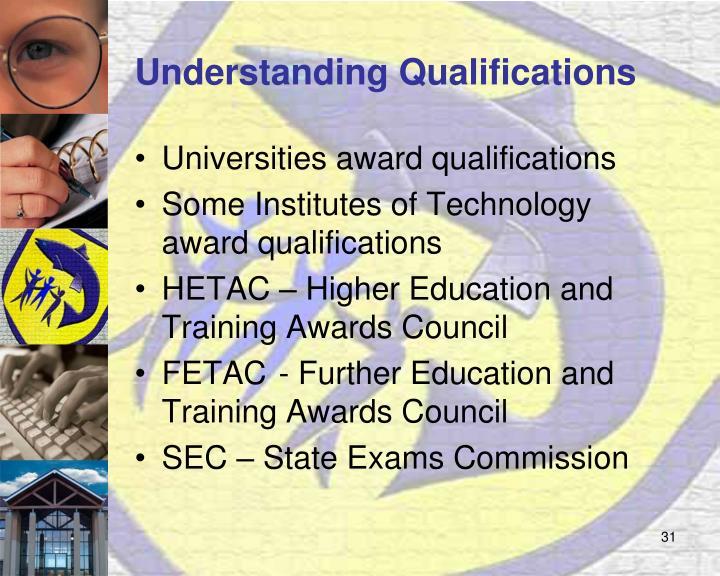 Understanding Qualifications