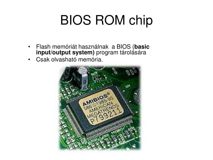 BIOS ROM chip