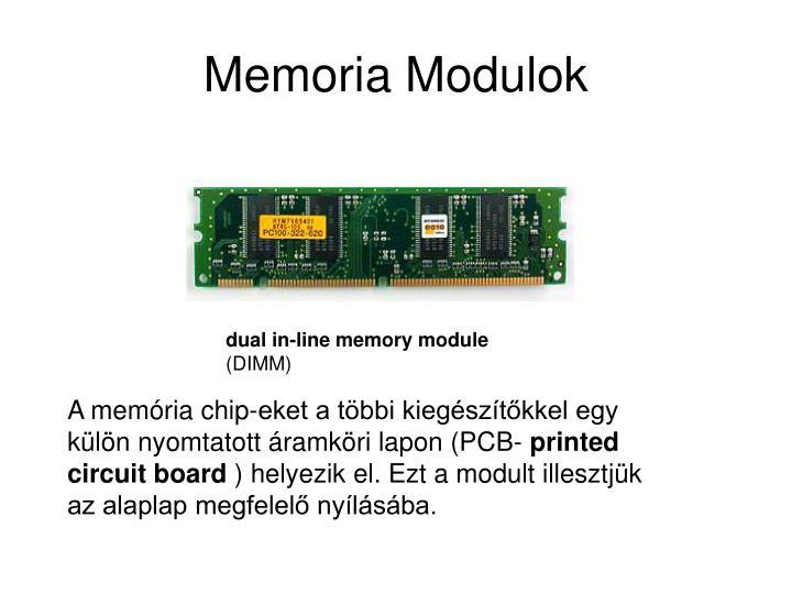 Memoria Modulok