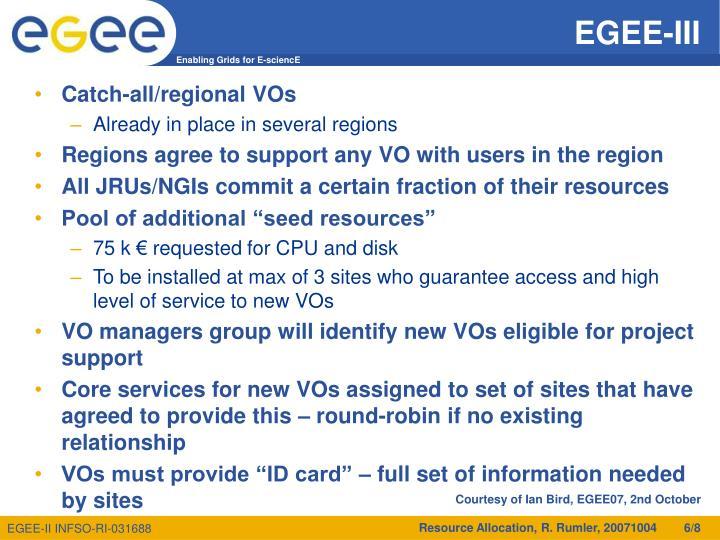 EGEE-III