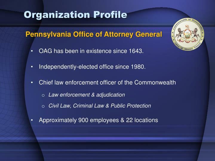 Pennsylvania Office of Attorney General