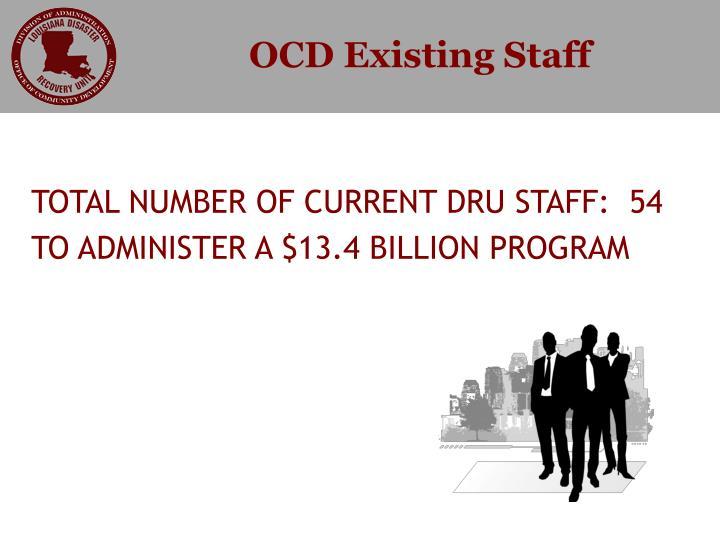 OCD Existing Staff