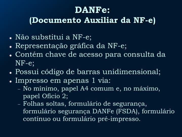 DANFe:
