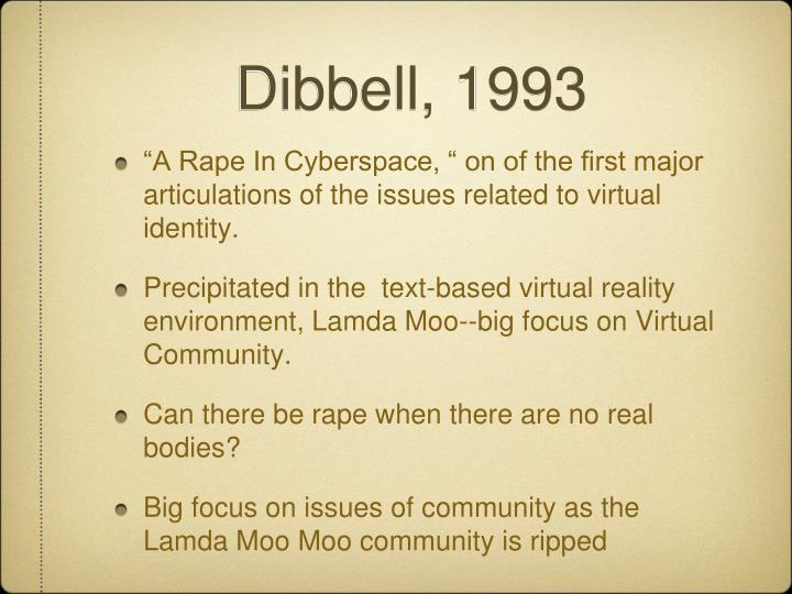 Dibbell, 1993