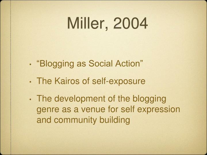 Miller, 2004