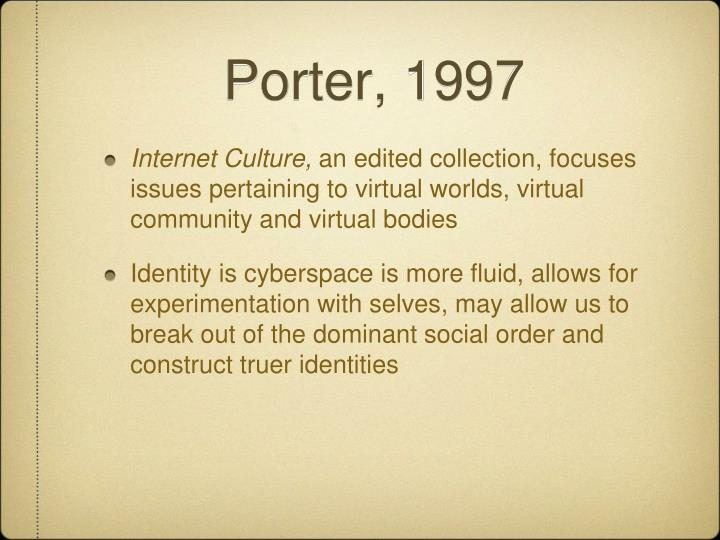 Porter, 1997