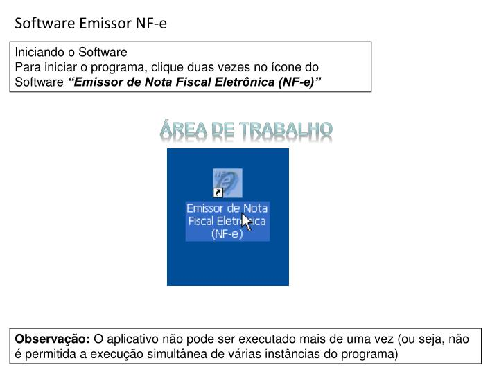 Software Emissor NF-e