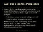gad the cognitive perspective2