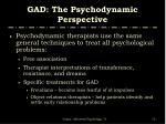 gad the psychodynamic perspective3