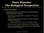 panic disorder the biological perspective3