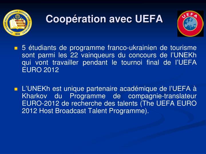 Coopération avec UEFA