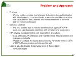 problem and approach