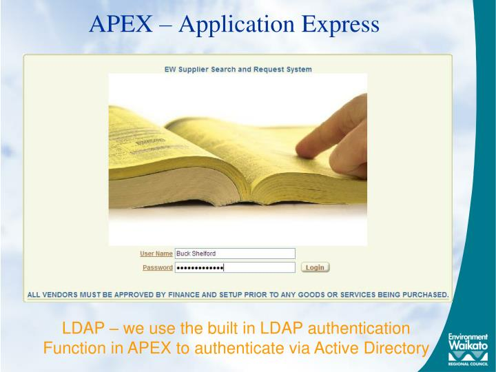 APEX – Application Express