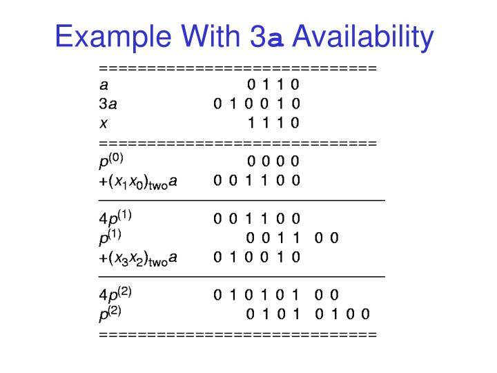 Example With 3