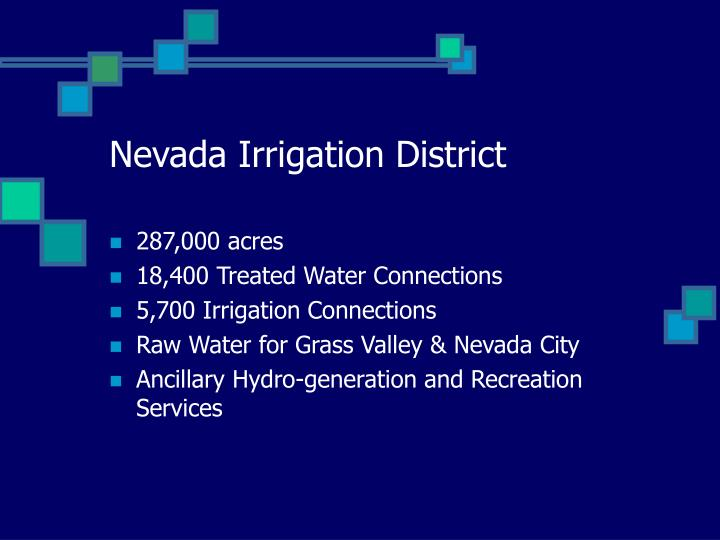 Nevada Irrigation District