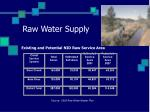 raw water supply