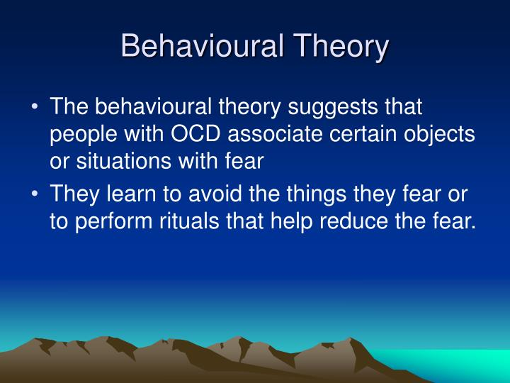 Behavioural Theory
