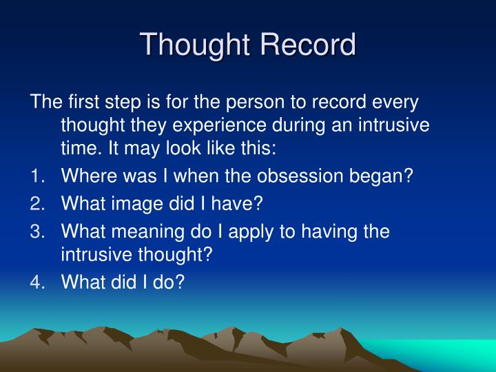 Thought Record