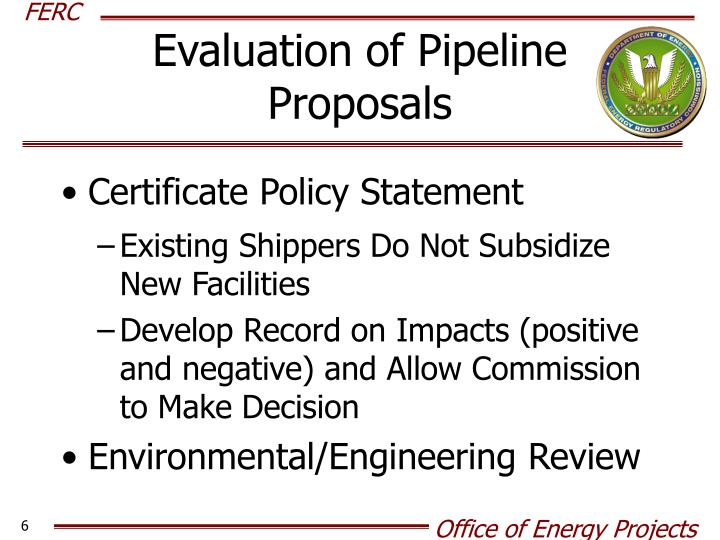 Evaluation of Pipeline