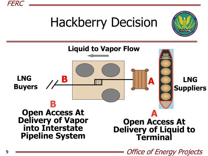 Hackberry Decision