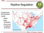 pipeline regulation