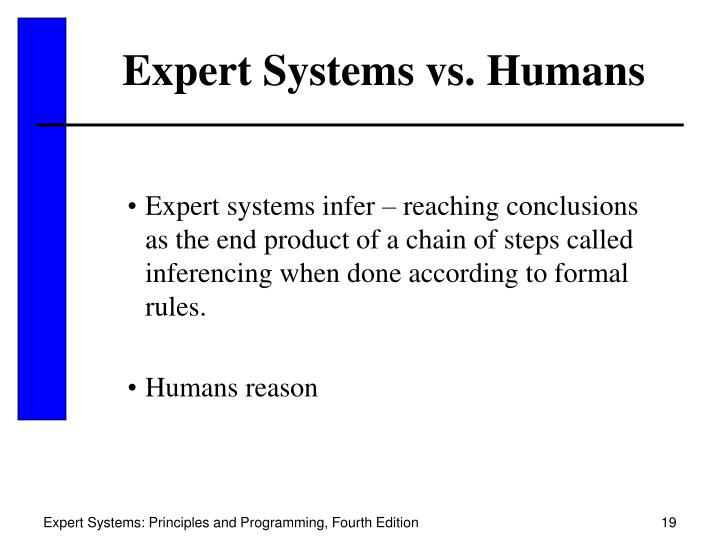 Expert Systems vs. Humans