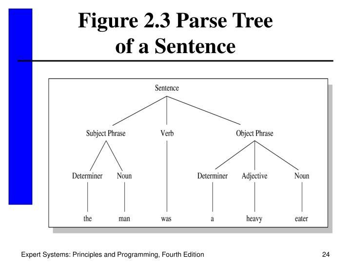 Figure 2.3 Parse Tree