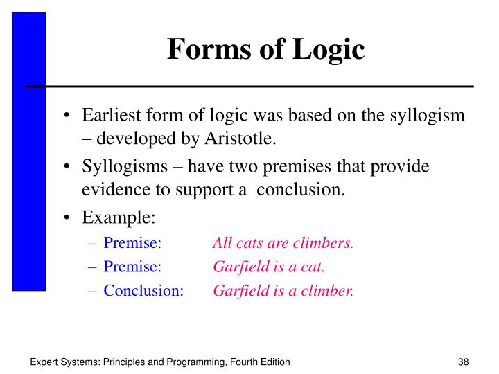 Forms of Logic