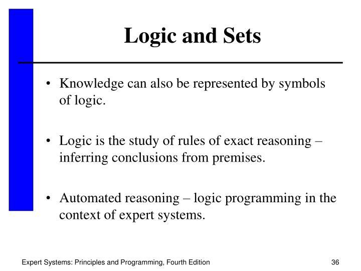 Logic and Sets