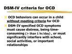 dsm iv criteria for ocd1