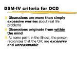 dsm iv criteria for ocd2
