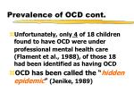 prevalence of ocd cont