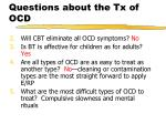 questions about the tx of ocd1