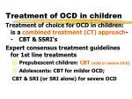 treatment of ocd in children1
