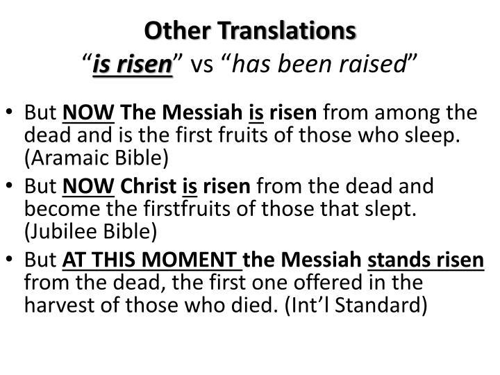 Other Translations