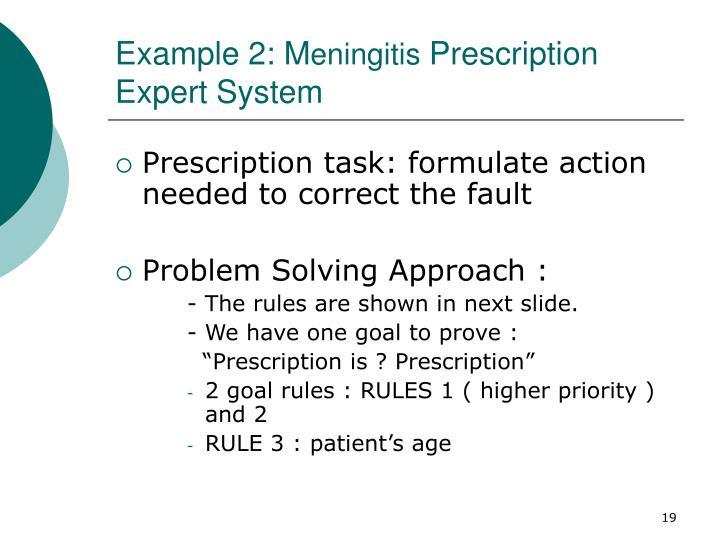 Example 2: M