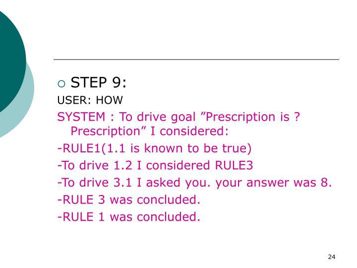 STEP 9: