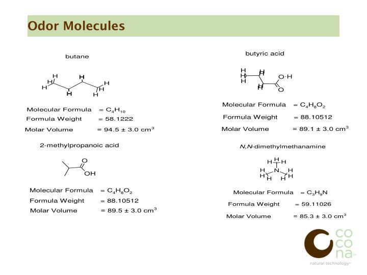Odor Molecules
