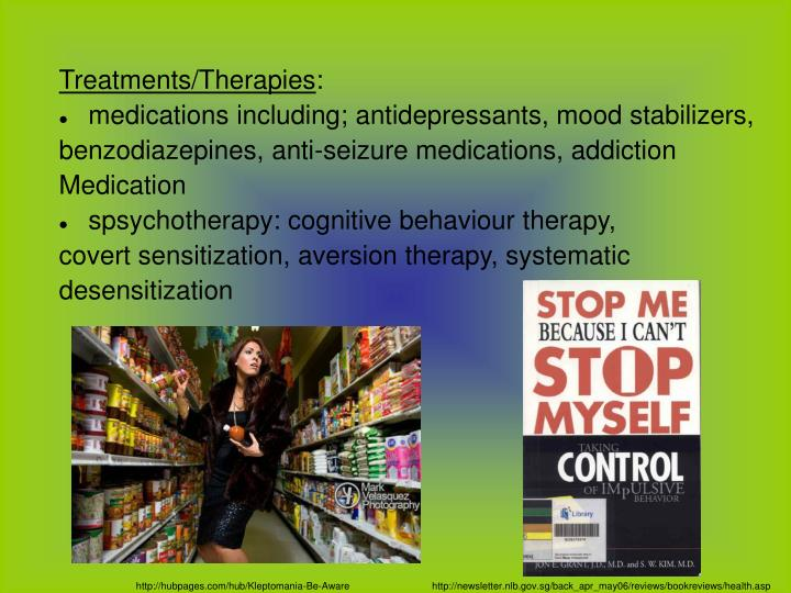 Treatments/Therapies