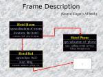 frame description