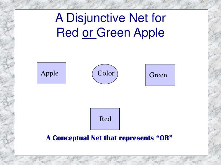 A Disjunctive Net for
