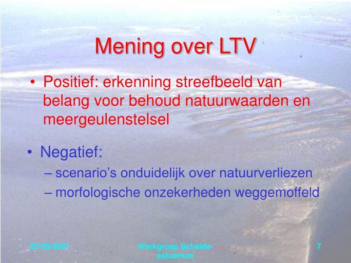 Mening over LTV