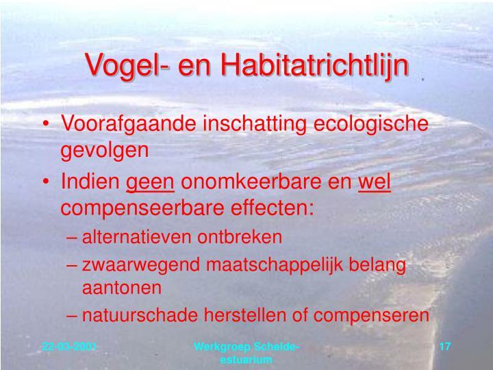 Vogel- en Habitatrichtlijn