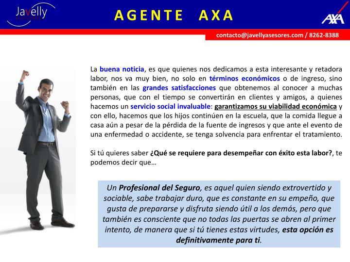 AGENTE  AXA