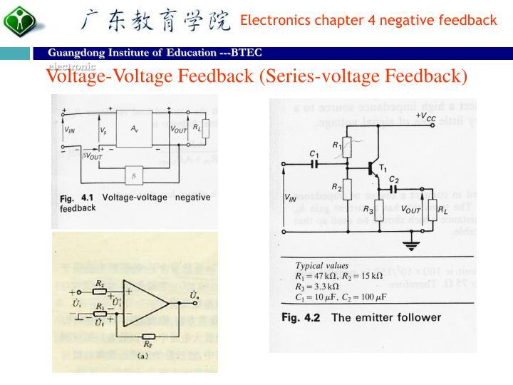 Voltage-Voltage Feedback (Series-voltage Feedback)