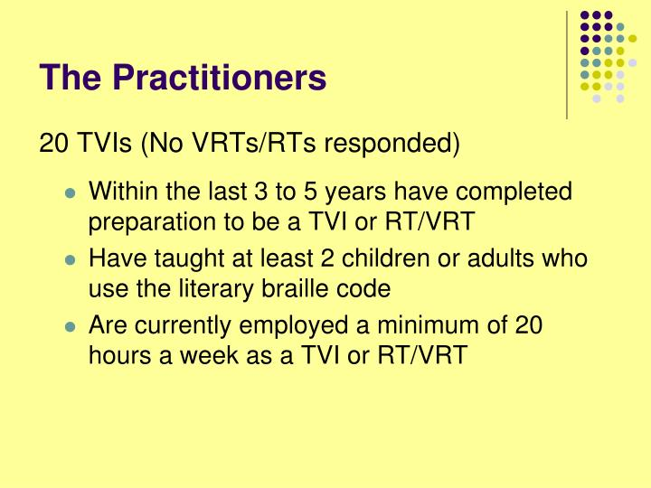The Practitioners