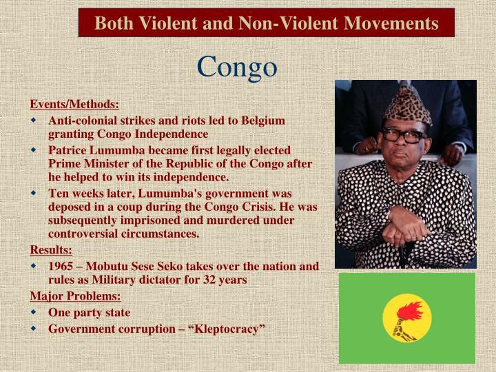 Both Violent and Non-Violent Movements