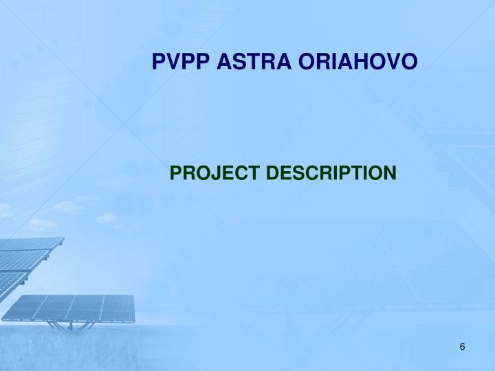 PVPP ASTRA ORIAHOVO